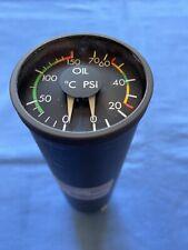 5427-395-8 Dassault Falcon Brion LeRoux Dual Oil Pressure/Temperature Indicator