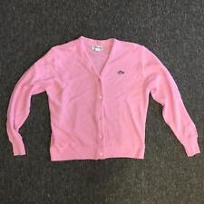 Haymaker Lacoste Womens 42 Solid Pink Casual Sweatshirt