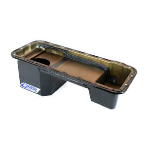 Canton Engine Oil Pan 16-870; Competition 7.0 Quarts Black for Ford 352-428 FE