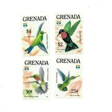 Grenada - 1992 - Hummingbirds - Set Of 4 Stamps - MNH