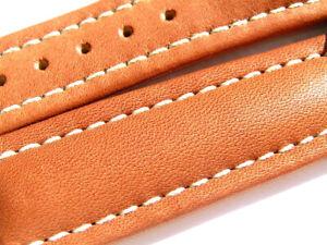 Breitling Band 19mm brown marron Calf Strap für Dornschliesse 043-19