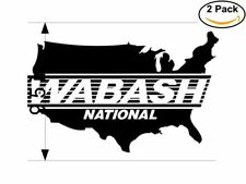 Wabash National 2 Stickers 9.5 inches Sticker Decal