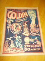 Horace Goldin's Secrets of Magic Softcover