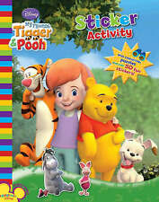 Disney: My Friends Tigger and Pooh Parragon Paperback Stciker Activity A10 LL124