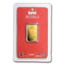 5 gram Gold Bar - Republic Metals Corporation (In Assay)