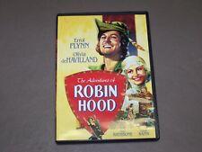 New ListingAdventures of Robin Hood, Errol Flynn, Olivia de Havilland, classic swashbuckler