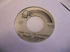 Michel Legrand Brian's Song/Theme From The Go Between 45 RPM Bell Records VG+