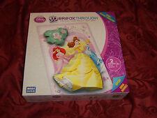 "Disney Princess 3-D Breakthrough Mega Puzzle ""Puzzles that really pop out"" toys"