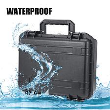 Portable Waterproof Shockproof Sponge Tools Boxes Compartment Storage Plastic