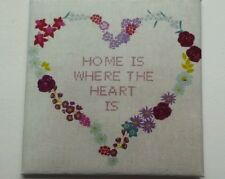 HANDMADE MINIATURE DOLLS HOUSE ACCESSORY CANVAS STYLE WALL ART PICTURE HEART