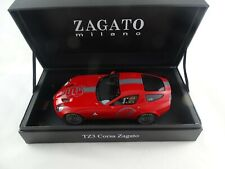 1:18 MR Alfa Romeo TZ3 Zagato 2010 red Leather Base Limited Edition 280/399