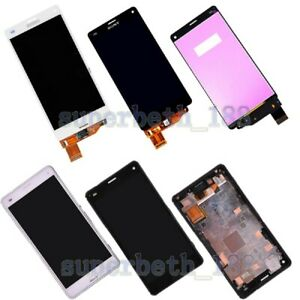 LCD Touch Screen Digitizer Display for Sony Xperia Z3 Compact Mini D5803 D5833