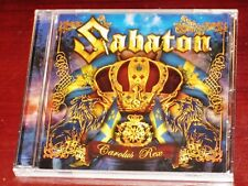 Sabaton: Carolus Rex CD 2012 Bonus Track Nuclear Blast Records USA NB 2827-2 NEW