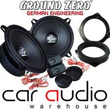 PEUGEOT 106 Ground Zero 280 W Pair 13cm Component Front Door Car Speaker Kit