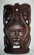 Alte Holzmaske    Afrika - Asien   18 cm x 34 cm