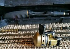 Rare Collectible Original Daiwa Minicast 2 System Rod & Gold Cast Spinning Reel