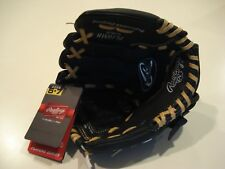Rawlings Pl10Mb Youth Baseball Glove - Ages 5-7 - Black and Tan - New With Tags