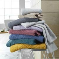 Luxury Geo Bath Towel Hand Towel Bath Sheet Soft Bath Towel  Absorbent 600 GSM