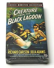CREATURE FROM THE BLACK LAGOON 1954 VHS NEW SEALED UNIVERSAL MONSTERS COLLECTION