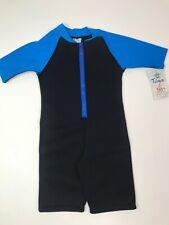 Tuga Blue and Black Bodysuit Kids 3 years NWT