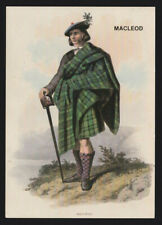 MACLEOD Septs Scots Kith & Kin include .............Clan book names POSTCARD