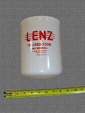 Waste Oil Heater Parts Hydraluic fuel oil filter LENZ CP-1282-100M 3-PACK !!!