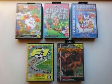Sega. Sega Mega Drive. Sega Megadrive. Lot sega. Lot de 5 jeux en boite. A voir