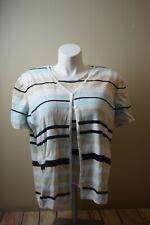 Hampshire Studio Women's 1X Sweater Set Tank Cardigan 2 Piece Blouse