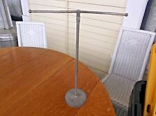 Antique VTG Metal Industrial Jewelry Tie Shirt Display Stand Adjustable Store #B