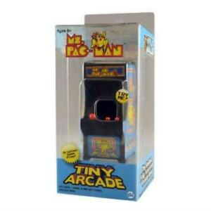 Tiny Arcade Ms Pac-Man Brand New Sealed In Pack Smallest Coolest Keychain