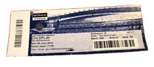COLDPLAY Ticket 'A Head Full of Dreams' Tour 5th June 2016