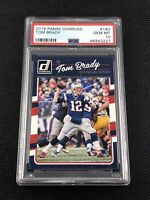 Tom Brady 2016 Panini Donruss #180 PSA 10 Gem Mint New England Patriots