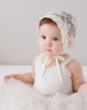 Baby Girl Infant Newborn Kids Lace Hat Cap Beanie Bonnet Hats Hair Accesorries