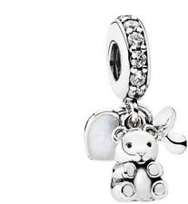 Pandora Sterling Silver Baby Treasures Pendant Charm 792100CZ