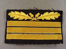 99927: Dienstgradabzeichen für Tarnjacke: Elite Obergruppenführer, gelb/schwarz