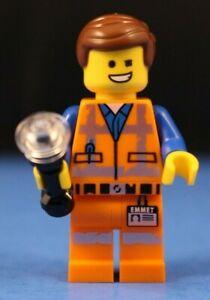 LEGO® The LEGO Movie 2™ 70835 EMMET Minifigure wink & worn uniform 100% LEGO