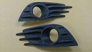 FOG LAMP COVER FOR SWIFT 11-14 5D HATCHBACK(FIT ON OEM BUMPER USE) Primed Black