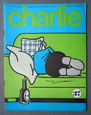 ►MENSUEL CHARLIE 37/1972 WOLINSKI - SHULZ/PEANUTS - TOPOR - REISER - BARBE