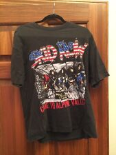 Vintage RARE Skid Row Alpine Valley Event Shirt 1990 Glam Metal Tour Shirt