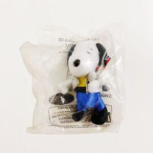 The Many Lives of Snoopy Plush Toy #11 Singer McDonalds 2001 Sealed