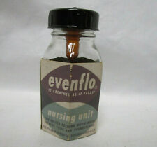 Vintage New Small Vintage Evenflo Complete Baby Bottle w/Nipple,Cap & Packaging