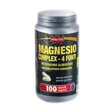 MAGNESIO COMPLEX 4 FONTI INTEGRATORE WINTER SENZA GLUTINE E LATTOSIO 100 CAPSULE