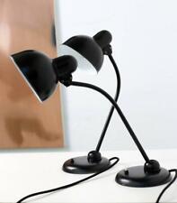 Kaiser Idell 6551 Schreibtischlampe, Bauhaus Lampe - restaurierte Zwillinge