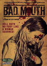 Brand New! Bad Mouth DVD Troma Team Cult Indie Horror movie! Guy Moore Kaufman