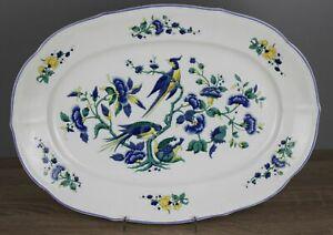 Villeroy & Boch V&B Phoenix Phönix blau MALVA Servierplatte Platte 33,5x24,2 cm
