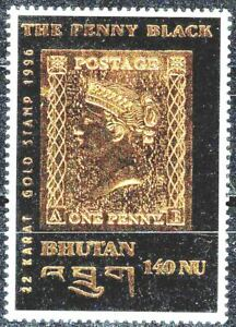 BOUTHAN 1996 PENNY BLACK   n° 1129 Neuf ★★ Luxe / MNH