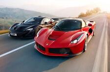 "157 Ferrari - Enzo F458 F50 F1 California LaFerrari Super Car 36""x24"" Poster"