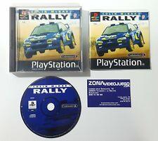 Colin McRae Rally , Sony Playstation, Pal-esp