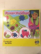 Creativity For Kids Fleece Fashion Scarf Making Gifts For Girls Craft Children
