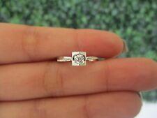 .015 CTW Diamond Engagement Ring 18k White Gold ER377 sep (PRE-ORDER)
